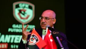 Gaziantep FK Başkanı Büyükekşiden penaltı isyanı