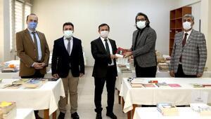 ERÜden tutuklu ve hükümlüler için kitap kampanyası