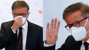 Son dakika haberler... Avusturyada büyük şok Sağlık Bakanı istifa etti