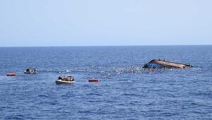 Cibutide göçmen teknesinin alabora olması sonucu 42 kişi hayatını kaybetti