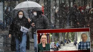 Kar yağışı ülkeyi terk ediyor mu Prof. Dr. Şen canlı yayında açıkladı
