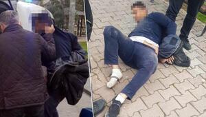 Kayseride parkta iğrenç olay Yaka-paça gözaltına alındı