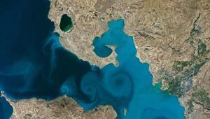 NASAnın yarışmasında uzaydan çekilen Van Gölü fotoğrafı birinci seçildi