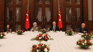 Son dakika haberi: Cumhurbaşkanı Erdoğan, ilk iftarını şehit aileleriyle açtı