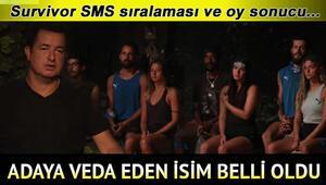 Survivor'da kim elendi, adadan kim gitti Survivor SMS sıralaması ile 13 Nisan Survivordan elenen isim belli oldu