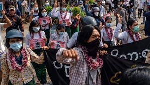 Myanmarda güvenlik güçlerinin silahlı müdahalesi sonucu ölen sivillerin sayısı 714e çıktı