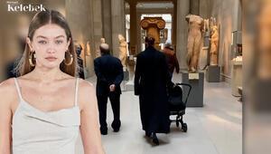 Gigi Hadid kızını kültür gezisine çıkardı
