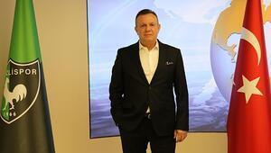 Denizlisporda başkan Çetin takımın Süper Ligde kalacağına inanıyor