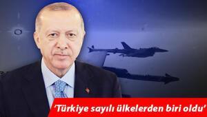 Son dakika... Cumhurbaşkanı Erdoğan paylaştı: Türkiye sayılı ülkelerden biri oldu... İlk atışta tam isabet