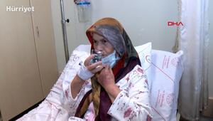 74 yaşındaki Fatma Şimşek, ameliyat sonrası 2 yıl  sonra kana kana su içti