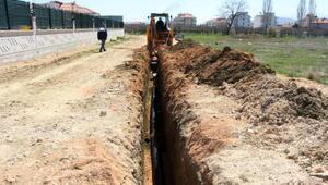 Korkutelide 4 mahallede içme suyu imalatı yapıldı