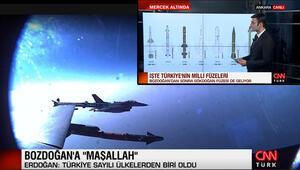 İlk atışta tam isabet İşte Türkiyenin milli füzeleri