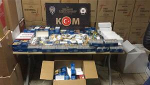 İzmirde kaçak akaryakıt ve sahte içki operasyonlarında 10 şüpheli yakalandı