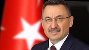 Cumhurbaşkanı Yardımcısı Oktay, KKTC Maliye Bakanı Oğuzu kabul etti
