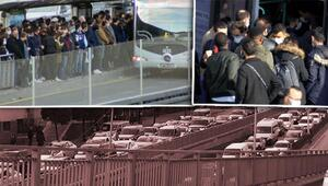 İstanbulda kısıtlamaya dakikalar kala aşırı yoğunluk