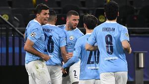 Manchester City, Şampiyonlar Liginde yarı finalde Dortmund geri dönemedi