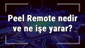 Peel Remote nedir ve ne işe yarar Telefonu kumanda olarak kullanma