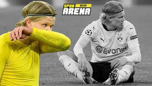 Borussia Dortmundda Erling Haaland kayıp İzleyenler inanamıyor...