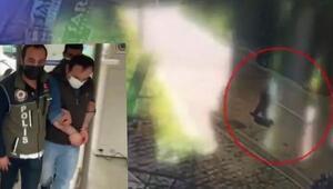 Beylikdüzünde 2 iş yerinden hırsızlık yapan şüpheli kamerada