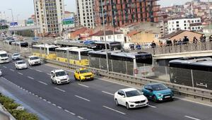 İstanbul trafiğine kademeli mesai etkisi Yoğunluk azaldı