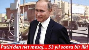 Rusyadan yeni adım: Tanklara savaş boyası yapıldı