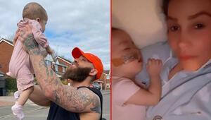 Kızımın uyandığı her sabah bir nimet: Ünlü çiftin 8 aylık bebeği lösemiyle mücadele ediyor
