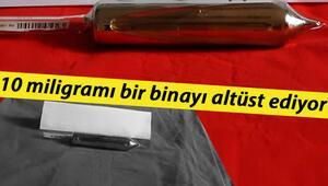 10 miligramı bir binayı altüst ediyor Bursada nükleer operasyon: Sezyum 137' ele geçirildi