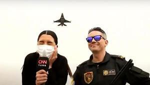 Tarih yazan pilotlar Efsaneler kapılarını CNN TÜRKe açtı