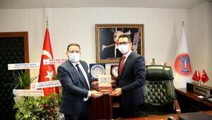 Başkan Ekenden STK ve kamu görevlilerine ziyaret