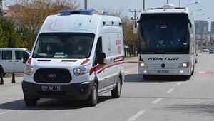 Yolcu otobüsünde bir kişinin testi pozitif çıktı 48 kişi karantinada...