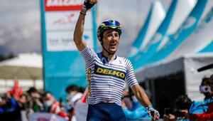 56. Cumhurbaşkanlığı Türkiye Bisiklet Turunun 5. etabını Jose Manuel Diaz Gallego kazandı