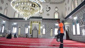 Muratpaşada 152 cami dezenfekte edildi