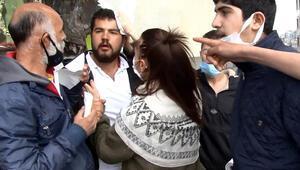 Taksimde gerginlik 1 seyyar satıcı yaralandı