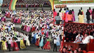 Kuzey Korede Güneşin Günü kutlamaları yapıldı