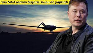 Türk SİHAları sonrası yeni adım: ABDye Elon Musk mektubu