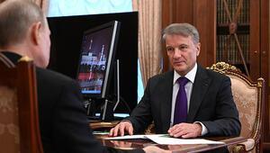Rus Sberbank Başkanı: ABD yaptırımının ekonomimize ciddi etkisi yok