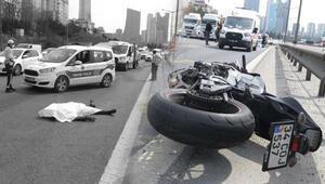 İstanbulda feci kaza Metrelerce sürüklendi... Acı haber