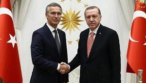 Son dakika... Cumhurbaşkanı Erdoğan, NATO Genel Sekreteri Jens Stoltenberg ile görüştü
