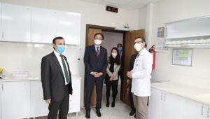Kore Cumhuriyeti Ankara Büyükelçisi Leeden ERÜye ziyaret