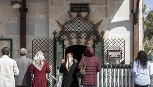 Hacı Bayram-I Veli Türbesi sadece dışarıdan görülebilecek