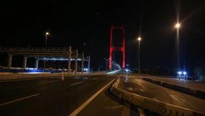 Kovid-19 tedbirleri kapsamında Türkiye genelinde sokağa çıkma kısıtlaması başladı