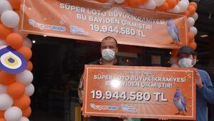 Süper Loto talihlisi İzmirden çıktı Bayi 4. kez büyük ikramiye kazandırdı