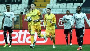 Beşiktaş son 5 maçta 7 puan kaybetti