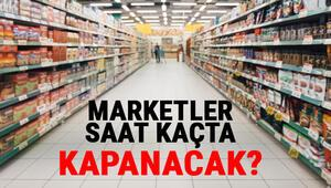 Dikkat saatler değişti: Marketler bugün saat kaçta kapanıyor İşte hafta sonu sokağa çıkma yasağında marketlerin çalışma saatleri..