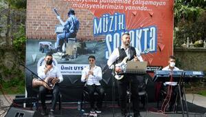 Aydın Kanza Parkında müzik keyfi