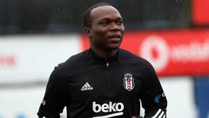 Son dakika: Beşiktaşta Aboubakar takımla çalışmalara başladı