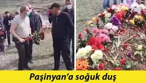 Ermenistan Başbakanı Paşinyana asker yakınından soğuk duş: Mezara çiçek bırakmasını engelledi