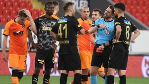 Göztepe, Süper Ligde bu sezon 7. kez öne geçtiği maçta üstünlüğünü koruyamadı