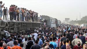 Mısır Sağlık Bakanlığı acı tabloyu paylaştı: Kalyubiyedeki tren kazasında 11 kişi öldü, 98 kişi yaralandı