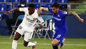 Real Madrid, Getafe deplasmanından 1 puanla döndü